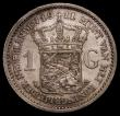London Coins : A170 : Lot 1142 : Netherlands Gulden 1911 KM#148 NVF/VF the obverse with some contact marks, scarce