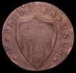 London Coins : A170 : Lot 1259 : USA Halfpenny 1787 New Jersey, Obverse: short grips the highest of which points to the left upright ...