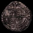 London Coins : A170 : Lot 1290 : Groat Henry VIII Canterbury S2373 overall VF but with the portrait very sharp and bold desirable thu...