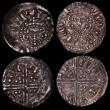 London Coins : A170 : Lot 1301 : Hammered (3) Shilling Charles I Group D, Fourth Bust, No inner circles, Reverse: Round Garnished Shi...