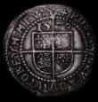 London Coins : A170 : Lot 1343 : Threepence Elizabeth I Fifth Issue 1579 S. mintmark Greek Cross, 1.54 grammes, Fine/Good Fine with g...