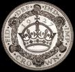 London Coins : A170 : Lot 1422 : Crown 1927 Proof ESC 367, Bull 3631 UNC and lustrous with an edge bruise by OMN