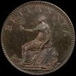 London Coins : A170 : Lot 1470 : Farthing 1806 Copper Proof Peck 1389 KF13 nFDC with traces of lustre , in a PCGS holder slabbed and ...