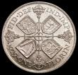 London Coins : A170 : Lot 1590 : Florin 1929 ESC 949, Bull 3783 Choice UNC lightly toned with excellent surfaces, in an LCGS holder a...