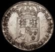 London Coins : A170 : Lot 1690 : Halfcrown 1689 First Shield, No frosting, with pearls, ESC 507, Bull 835 GVF with a scratch on the d...
