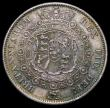 London Coins : A170 : Lot 1736 : Halfcrown 1817 Bull Head doubled E in DEI, LCGS variety 19, EF the obverse with grey tone, the rever...