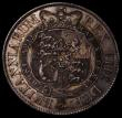 London Coins : A170 : Lot 1754 : Halfcrown 1820 George III ESC 625, Bull 2105 NEF/EF and nicely toned, the obverse with some contact ...