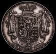 London Coins : A170 : Lot 1764 : Halfcrown 1831 Plain Edge Proof, WW in block, ESC 657, Bull 2473, Davies 320, dies 1A, obverse with ...