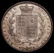 London Coins : A170 : Lot 1778 : Halfcrown 1840 ESC 673, Bull 2715 NEF/GEF the obverse lightly toned with some contact marks, the rev...