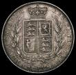 London Coins : A170 : Lot 1781 : Halfcrown 1841 ESC 674, Bull 2716 EF and nicely toned, in an LCGS holder and graded LCGS 65. An extr...