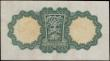 London Coins : A170 : Lot 185 : Ireland (Republic) Currency Commission Lady Lavery 1 Pound 'War Code' Letter P in brown Pi...