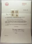 London Coins : A170 : Lot 1912 : Maundy Set 1999 S.4211 FDC in the sealed envelope of issue, comes with letter from the Royal Almonry...