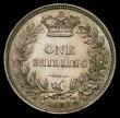 London Coins : A170 : Lot 2006 : Shilling 1853 the A's in the obverse legend joined at their bases, type as ESC 1300, Bull 3002 ...