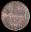 London Coins : A170 : Lot 2022 : Shilling 1893 Large Letters on Obverse ESC 1361, Bull 3153, Davies 1011 dies 2A, Choice UNC with sof...