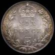 London Coins : A170 : Lot 2099 : Sixpence 1901 ESC 1771, Bull 3294 Choice UNC with and attractive golden tone, in an LCGS holder and ...