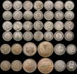 London Coins : A170 : Lot 2588 : A retired dealers ex-retail stock (40) mostly 19th and early 20th Century British Commonwealth silve...