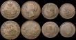 London Coins : A170 : Lot 295 : Canada Tokens (8) Nova Scotia (4) Pennies (3) 1832 KM#2 Good Fine, 1840 KM#4 Good Fine/Fine, 1856 wi...