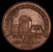 London Coins : A170 : Lot 338 : Penny 19th Century Cornwall 1812 Scorrier House. Obverse: Pumping station, Reverse: Prince of Wales ...