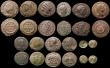London Coins : A170 : Lot 437 : Roman Ae3 and Ae4 (21) includes Licinius I, Licinius II (2), Constantine I (11), Julian II (3), Hele...