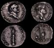 London Coins : A170 : Lot 444 : Roman Denarii (3) Vespasian (69-79AD) 79AD. Obverse: Laureate head right, IMP CAESAR VESPASIANVS AVG...
