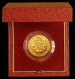 London Coins : A170 : Lot 638 : Sovereign 1989 500th Anniversary of the First Gold Sovereign S.SC3 Proof FDC in the red box of issue...