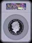 London Coins : A170 : Lot 701 : Ten Pounds 2019 Tower of London - The Crown Jewels 5oz.Silver Proof. S.M13, Reverse: The Crown of Ma...