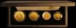 London Coins : A170 : Lot 736 : United Kingdom 1989 Gold Proof Four Coin Sovereign Collection, 500th Anniversary of the First Gold S...
