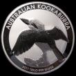 London Coins : A170 : Lot 765 : Australia 30 Dollars 2011 Kookaburra One Kilo of .999 Silver, Kookaburra about to take flight, unlis...