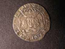 London Coins : A122 : Lot 1229 : Groat Henry VII S.2199 Class IIIc mintmark Anchor Fine