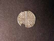 London Coins : A122 : Lot 1415 : Scotland Halfpenny Alexander III Second Coinage (1280-1286) S.5061 Two Mullets of Six points each Ab...