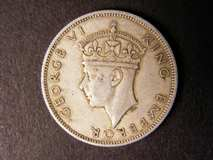 London Coins : A122 : Lot 1427 : Southern Rhodesia Two Shillings 1939 very scarce nVF