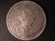 London Coins : A122 : Lot 1501 : Dollar Bank of England 1804 ESC 144 GEF/AU with minor cabinet friction only