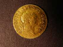 London Coins : A122 : Lot 1589 : Half Guinea 1806 S.3737 GVF weakly struck on the King's hair as often