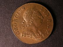 London Coins : A122 : Lot 1673 : Halfpenny 1770 Peck 893 Lustrous UNC with minor cabinet friction and a few small spots