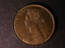 London Coins : A122 : Lot 1688 : Halfpenny 1868 Bronze Proof  Freeman 305 Ex-PCGS PR65RB, Ex-London Coins 28/11/04 Lot 1458, ...