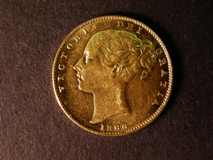 London Coins : A122 : Lot 1865 : Sovereign 1866 Marsh 51 Die Number 2 Lustrous EF