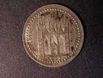 London Coins : A122 : Lot 998 : Eighteen Pence 1811 Northamptonshire Davis 3 Peterborough NEF with slightly uneven toning