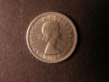London Coins : A124 : Lot 1363 : Sixpence 1965    Obv 1 Rev C -- B.S.C 2503 -- a very scarce die pairing VF