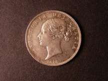 London Coins : A124 : Lot 2105 : Halfcrown 1875 EF ESC 696 with prooflike fields
