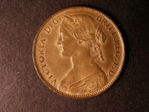 London Coins : A124 : Lot 678 : Penny 1860 Freeman 14 dies 3+E with L.C.W. below foot sharp UNC with near full lustre and as such co...