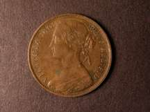 London Coins : A124 : Lot 709 : Penny 1868 Freeman 56 dies 6+G GVF/NEF with a corrosion spot on the obverse