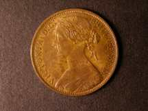 London Coins : A124 : Lot 729 : Penny 1874H Freeman 66 dies 6+G UNC and nicely toned