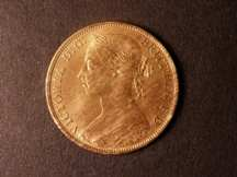 London Coins : A124 : Lot 764 : Penny 1887 Freeman 125 dies 12+N UNC with good but streaky lustre