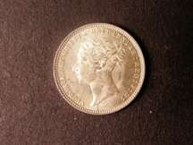 London Coins : A124 : Lot 928 : Sixpence 1868 ESC 1719 Die Number 14 AU/UNC Rare in high grade