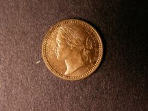 London Coins : A124 : Lot 967 : Third Farthing 1866 Bronze Proof Peck 1927 nFDC with much lustre