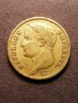 London Coins : A125 : Lot 788 : France 40 Francs Gold 1811 A Le Franc 541/11 Good Fine