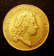 London Coins : A126 : Lot 1043 : Guinea 1715 Second Bust S.3629 GF/VF