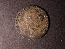 London Coins : A126 : Lot 1385 : Shilling 1787 No Hearts ESC 1216 EF Toned