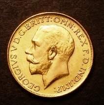 London Coins : A126 : Lot 1542 : Sovereign 1926 P Marsh 265 GEF Rare