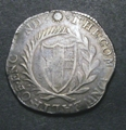 London Coins : A129 : Lot 1069 : Halfcrown Commonwealth 165- mintmark Sun About Fine struck on an irregularly shaped flan